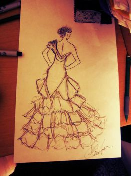 A dress.. by ArtisticTalents