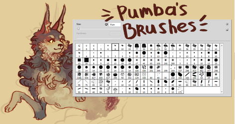 Pumb Brushes by arurelius