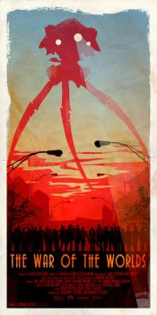 Inspired Movie Poster #1: The War of the Worlds by le0arts