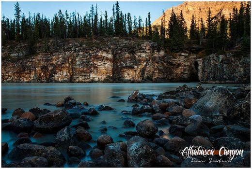 Athabasca Canyon by Solau