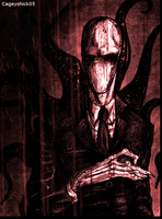 Scary Slenderman by Cageyshick05