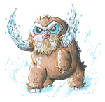 Collab: Mamoswine Used Ice Fang! by PitchBlackEspresso