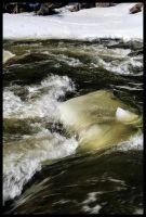 Small Snowy Rapids by NOS2002