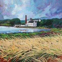 Lagavulin Distillery, Islay by NaismithArt