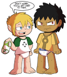 Knil and Jacob, the bet 2 - By JaredSteeleType by The-Crusader-Network