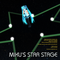 MMD Miku's Star Stage by Trackdancer