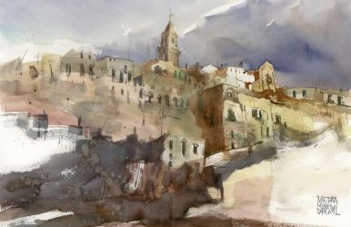 Matera, 38x56cm by NiceMinD