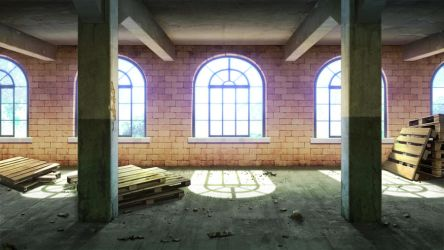 Abandoned building - VN background by Vui-Huynh