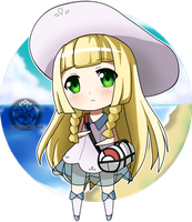 (Pokemon) Chibi Lillie by Poi-Frontier