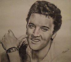 Elvis Presley by rukkuss
