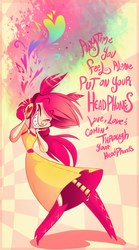 Love, Love's comin' through your Headphones by VivzMind