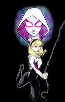 Spider-Gwen cover by GoblinGrimm1