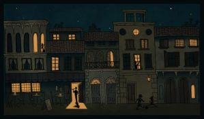 Florence At Night by Pen-umbra