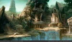 Atlantean Chasm by ZackF