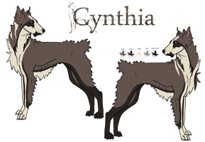 Cynthia by WildWithHeart-Kennel