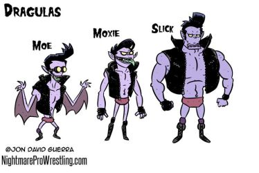 Dragulas - Nightmare Pro Wrestling by JonDavidGuerra
