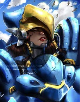 Pharah Overwatch by magato98