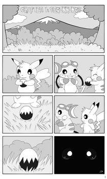 Chapter 1: Beginnings, P1 by pichu90