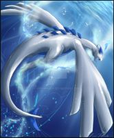 + Lugia: King of the Sea + by FionaHsieh