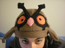 Pokemon Hoothoot Fleece Hat