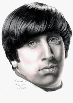 Simon Helberg as Howard Wolowitz by GustavodeAndrade