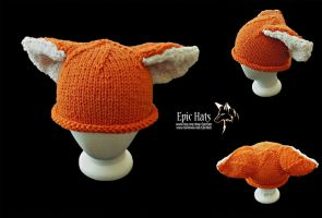 Orange Cat Hat by aetherfang
