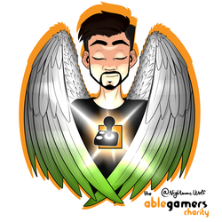 AbleGamers Charity Angel by NigthmareWolf