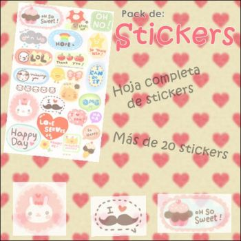 Pack de Stickers by LaniNila