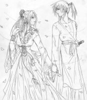 Princess and Samurai by AngelKara-chan