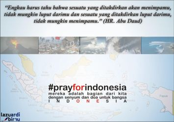 Pray for Indonesia 1 by hack87