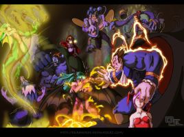 Darkstalkers -BRAWL- by DarkKenjie