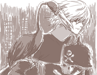 Captain Harlock fanart by mimidan