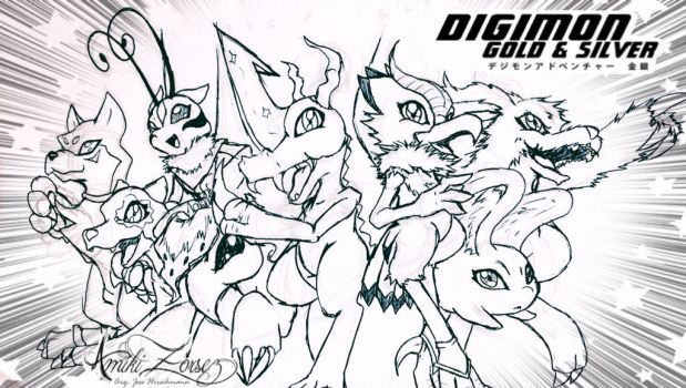Digimon Gold edition by Amiki-Zorsez