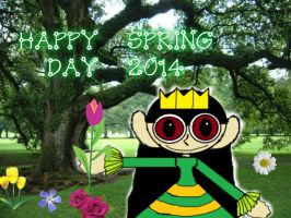 Happy Spring Day 2014 by lucianintendofan97