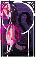 Favorite Psychic: Mewtwo. by Airanke