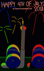 Happy 4th of July 2018 (Pic 1?) by SmartCookieMan756