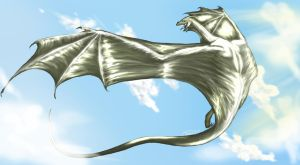 Among the Clouds by Caerulai