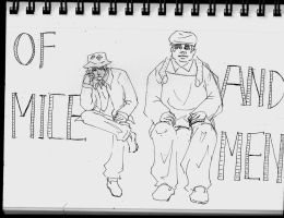 Of Mice and Men sketch by lala-spider