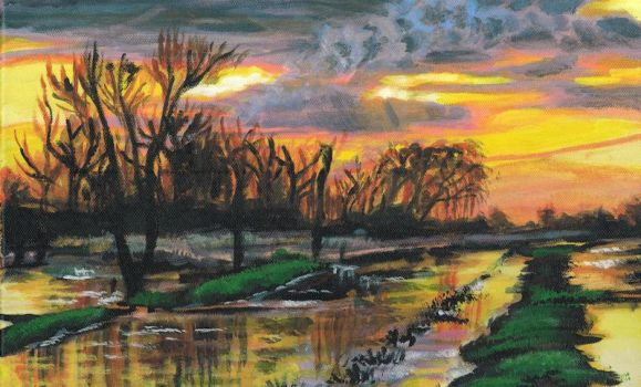 Sunset on the Fen by Firiel-Archer