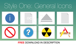 General Icons for Mac OS X Metro Style by hamzasaleem