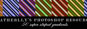 SuperStripey Gradients by Heatherlly