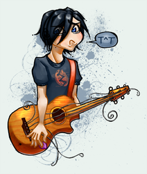 Emo Kid Can't Be Emo... by cerena