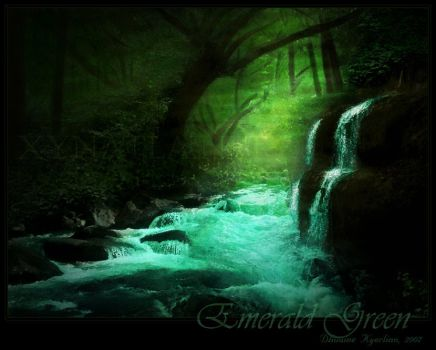 Emerald Green by Dhuaine