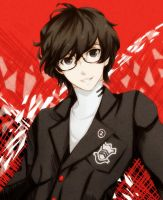 P5 protagonist by MegumiHayase