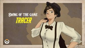 Swing of the Game : TRACER by IamALisMe