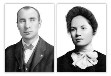 Drawing my great-great grandparents by Heatherrooney