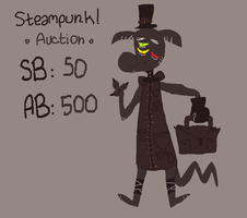 Steampunk AUCTION!! (open) by uni-que-adoptables