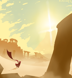I accidentally an Journey fanart by Elosande