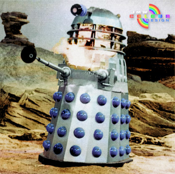 Doctor Who: The Daleks' Masterplan (Colourised) by JMWColourDesign