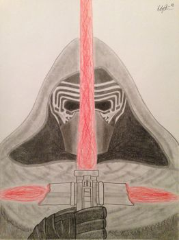 Kylo Ren by StreifSketches